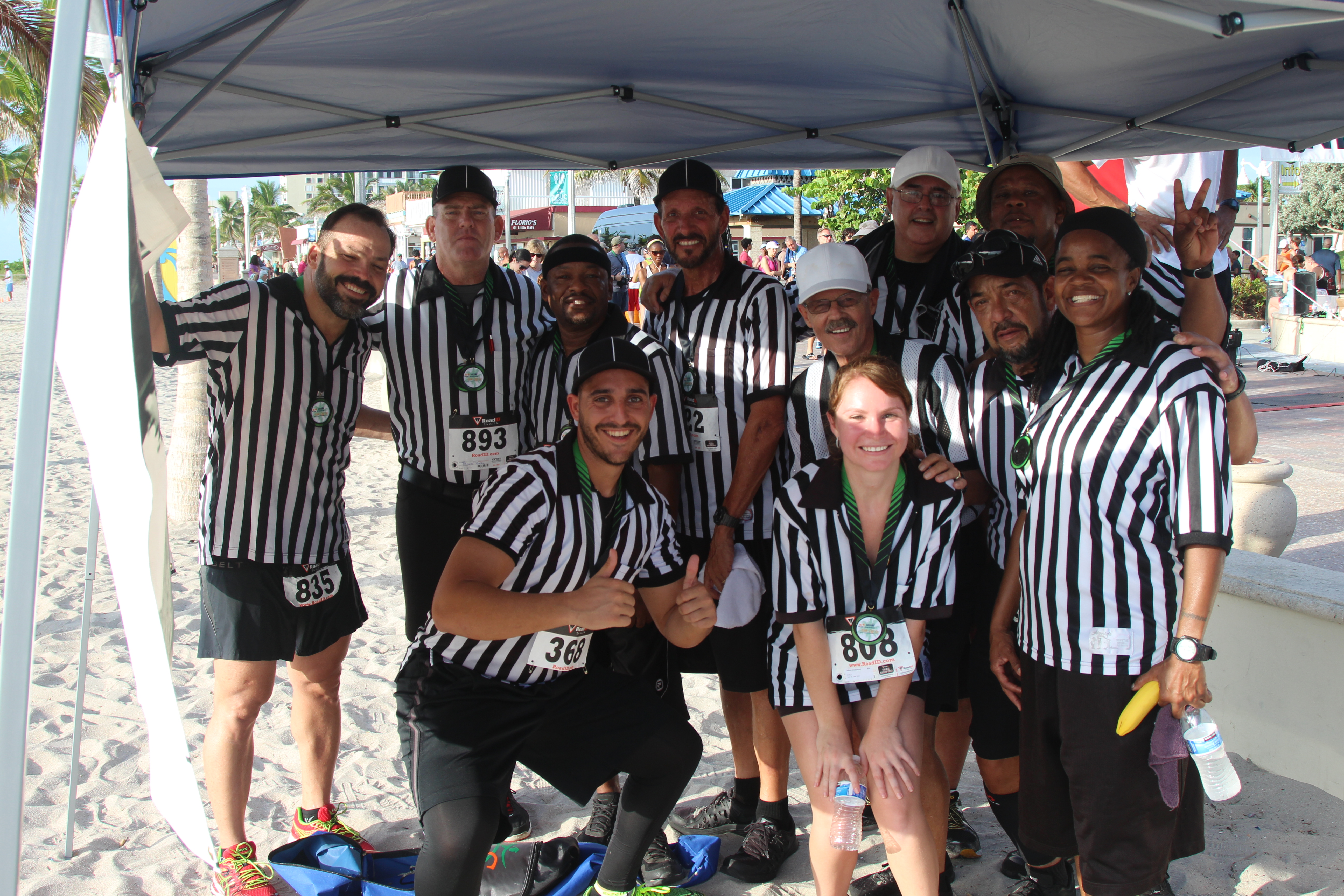 VIDEO: UConcussion at Running Refs 5K - University of Miami